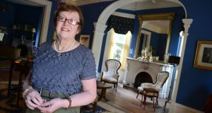 Betty Loafmann, owner of 4 East Madison Inn, says it might be easier for proprietors of small inns to afford wage increases than owners of large hotels. (The Daily Record/Maximilian Franz)