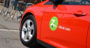 Car-sharing service Zipcar on Monday celebrated the grand opening of its Baltimore office in Harbor East and announced the addition of five vehicles to the area. (The Daily Record/Maximilian Franz)