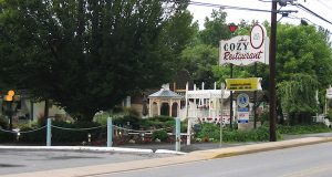 Auction set for items from Cozy Restaurant