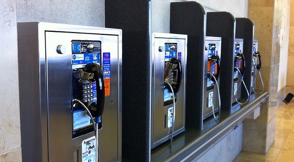 Ditch your quarters: BWI converts pay phone banks