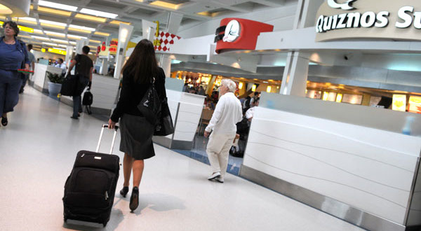 BWI will give flyer miles for shopping, parking, dining