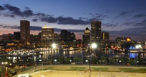 Downtown Baltimore gains national recognition