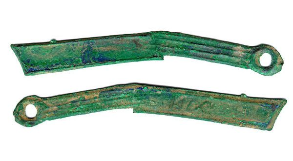 The Ancient Coin Collectors Guild imported three knife-shaped coins, like those shown above, to test the scope of the Convention on Cultural Property Implementation Act.