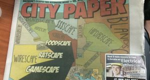 Senator criticizes 'Scaryscape' newspaper cover