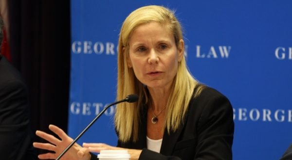 The Senate Judiciary Committee has recommended confirmation of Pamela Harris, of Potomac, a visiting professor at Georgetown Law, to the 4th Circuit. (Photo courtesy of Brent Futrell/Georgetown Law.)