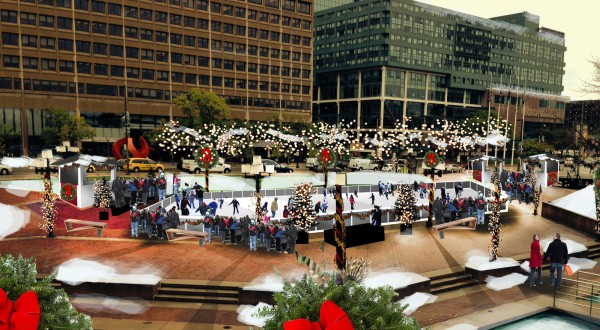 Inner Harbor ice rink agreement approved