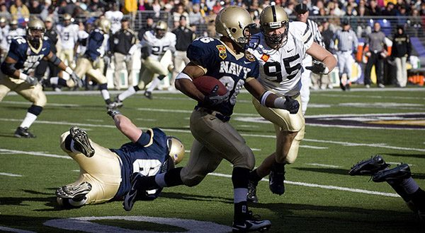 With the launch of the American Sports Network, Sinclair Broadcast Group Inc. will have broadcasting rights to several NCAA athletic conferences including the Patriot League — of which the U.S. Naval Academy is a part. (Photo by Mass Communication Specialist 2nd Class Kevin S. O'Brien [Public domain], via Wikimedia Commons)