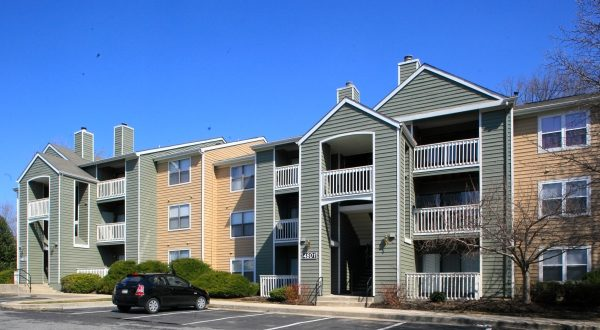 Quail Ridge apartments is one of two White Marsh multifamily units purchased by Continental Realty Corp. for a total of $58.25 million. (Photo courtesy of Lawrence Howard & Associates Inc.)