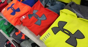 Under Armour's revenue soars 34%