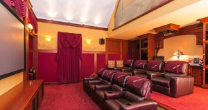 Auction set for Stevensville manor featuring two-level theater