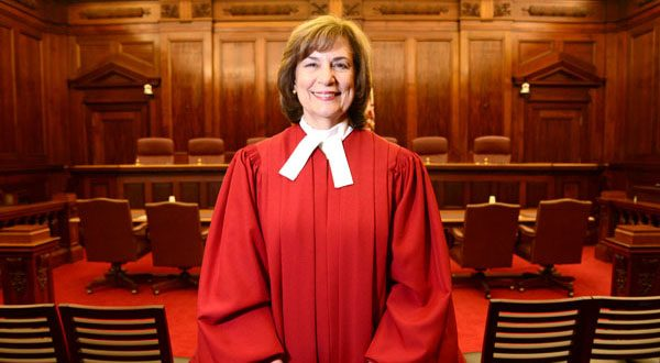 Court of Appeals Chief Judge Mary Ellen Barbera told a Senate Budget and Taxation subcommittee that the Judiciary's request accounts for just 1.3 percent of the state's budget and that the requested amount is needed for the smooth operation of the state's courts. (File photo)