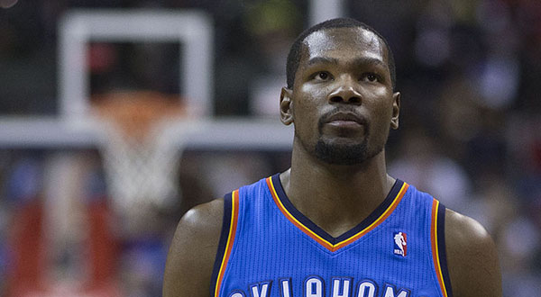Durant's representatives: Under Armour deal on the table