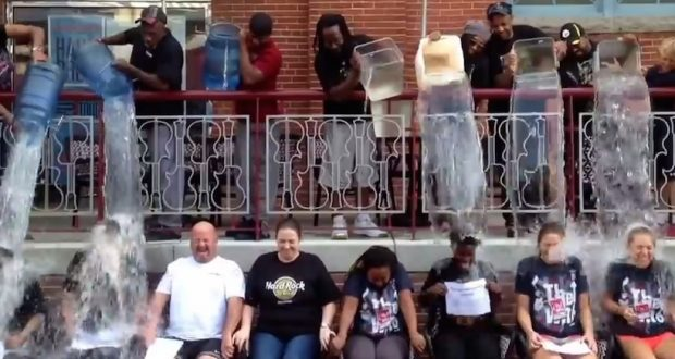 Who's taking the Ice Bucket Challenge in Md.?