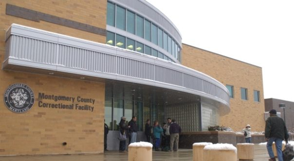 The Montgomery County Correctional Facility in Boyds (file photo by Maximilian Franz).