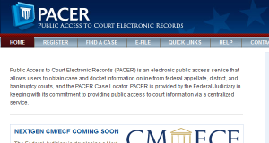 4th Circuit cases safe from PACER changes