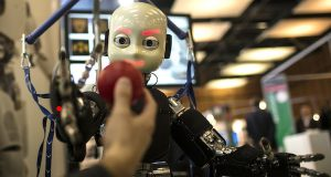 Robots' benefit to jobs? Views are split