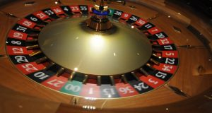 A roulette wheel at Maryland Live (Maximilian Franz/The Daily Record)