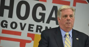 Larry Hogan(The Daily Record/Bryan P. Sears)