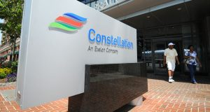 Constellation's office on Pratt Street in Baltimore. (File photo)