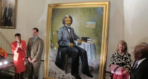 Douglass portrait unveiled in Md. governor's house