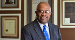 University of Baltimore President Kurt L. Schmoke (The Daily Record/Maximilian Franz)