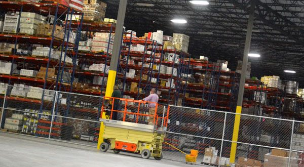 The interior of the new Reliable Churchill operation and distribution center in Middle River, which brings 500 jobs to Baltimore County. (The Daily Record/Adam Bednar)