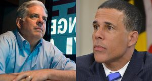 Larry Hogan, Anthony Brown