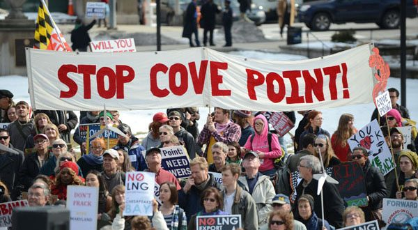 A Dominion Energy spokesman says a request for the Federal Energy Regulatory Commission to reconsider its approval of the Cove Point facility has not raised any new issues. (The Daily Record/Maximilian Franz)