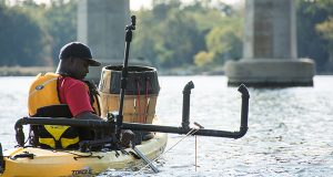 Maryland's 'Flying Fisherman' goes viral