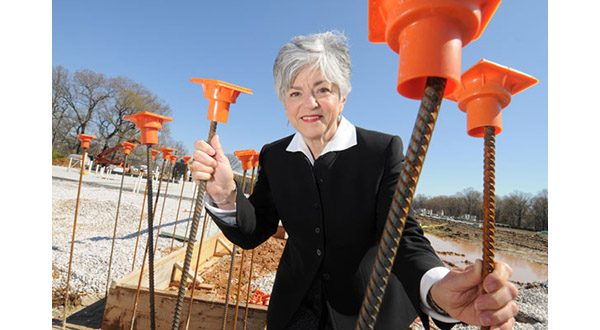 'I can already see that happening,' says Chickie Grayson of the prospect of widespread housing that blends market-rate and affordable units. 'But it's going to take a long time.' (The Daily Record/Maximilian Franz)
