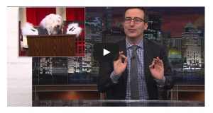 Comedian casts canines for the Supreme Court