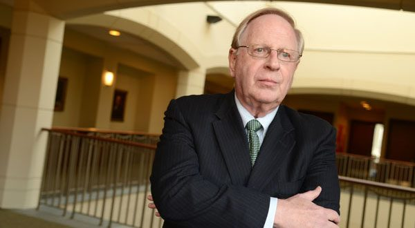 Strong interest in the crisis management specialization prompted the school to add one in cybersecurity, said Michael Greenberger, director of the University of Maryland's Center for Health and Homeland Security.  (The Daily Record/Maximilian Franz)
