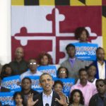 Obama rallies for Brown in Maryland
