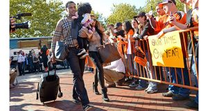 Slideshow: Orioles return home after sweeping Tigers
