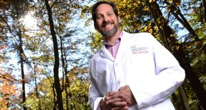 Among the questions facing today's physicians, says new MedChi president Dr. Tyler Cymet, is whether it's their role 'to maintain and promote health, or to get rid of disease.' (The Daily Record/Maximilian Franz)