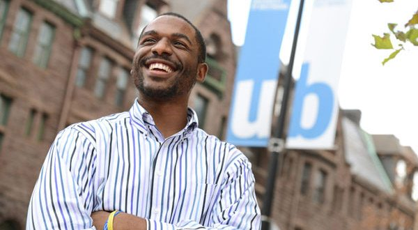 Vernon Brownlee, a Bowie State University graduate now attending the University of Baltimore Law School, says a special program to help prepare students from Maryland's historically black universities for law school helped him achieve his dream. (The Daily Record/Maximilian Franz)