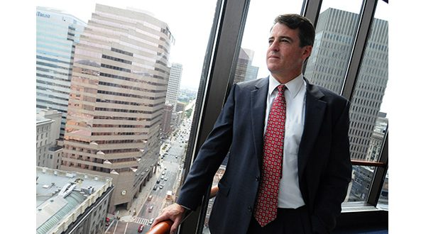 While there's no ethical precept that prevents Attorney General Douglas F. Gansler from defending the industries he formerly targeted once he leaves office, it could hurt him if he seeks to make a political comeback, a political science professor noted. (The Daily Record/Maximilian Franz)