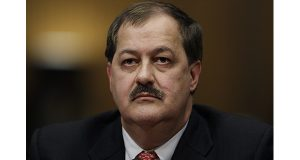 In this May 20, 2010 photo, Massey Energy Company Chief Executive Officer Don Blankenship pauses as he testifies on Capitol Hill in Washington. The former CEO who oversaw the West Virginia mine that exploded in 2010, killing 29 people, has been indicted on federal charges related to a mine safety investigation. U.S. Attorney Booth Goodwin said a federal grand jury indicted Blankenship on Thursday, Nov. 13, 2014. (AP Photo/Carolyn Kaster, File)