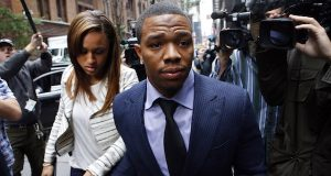 Ray Rice's road to redemption begins