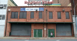The property at 316-318 Guilford Ave. has been a rock venue and a nightclub. (The Daily Record/Maximilian Franz)