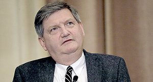 While the Justice Department has ruled out forcing James Risen to divulge his source, prosecutors have other questions for the Pulitzer Prize winning reporter, above. (AP Photo/Charles Rex Arbogast)
