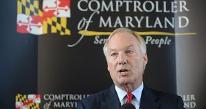 "Franchot happy with ""new sheriff in town"""