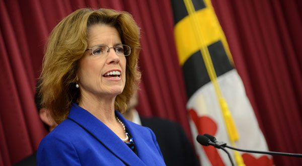 Carolyn Quattrocki, executive director of the Maryland Health Benefit Exchange, says officials are now able to make improvements to the system. (File photo)