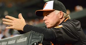 Orioles manager Buck Showalter (The Daily Record/Maximilian Franz)