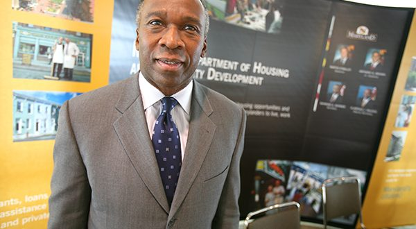 Raymond Skinner is the new president and CEO of East Baltimore Development Inc. (The Daily Record/Maximilian Franz)