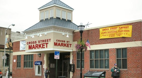 The Cross Street Market in Federal Hill. (The Daily Record file photo)