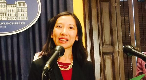 Baltimore City Health Commissioner Leana Wen (Adam Bednar/The Daily Record).