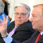 Hogan, board draw line in sand on university system projects