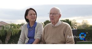 Florence Tung became Sidney W. Foulger's caregiver about a decade ago. In 2005, the two began an herbal remedy company which has since failed. Foulger's family settled litigation with Tung last week, giving them control over his multimillion-dollar estate and charitable foundation, among other assets. (Photo taken from a promotional video for their supplement company)