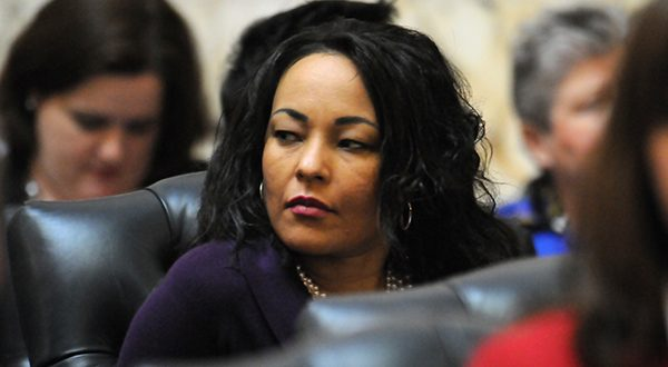 Del. Jill P. Carter, D-Baltimore City, is the chief sponsor of House Bill 283, which would make government agencies liable for attorneys' fees and legal costs, in addition to damages, if a plaintiff prevails on a state constitutional claim.